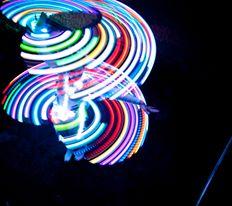 LED Hula Hoop, Hooping,