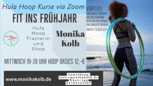 Hula Hoop - Fit ins Frühjahr + Online Zoom Kurs @ Online Zoom Kurs